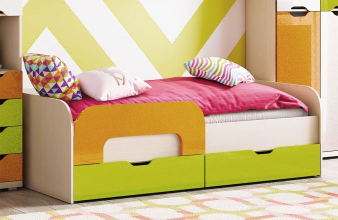 Кровать Дана с бортиком