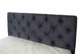 Мягкая кровать Мелиса 1,4 (Д) с изголовьем