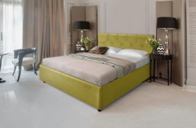Кровать Лаура. Ткань Veluttto 28