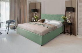 Кровать Лаура. Ткань Veluttto 30