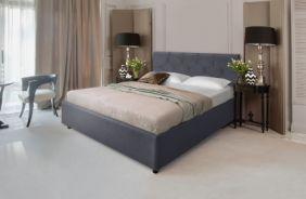 Кровать Лаура. Ткань Veluttto 32