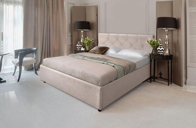Кровать Лаура. Ткань Veluttto 04