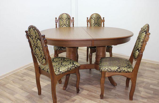 Обеденный стол Дуэт 1. Фото с производства