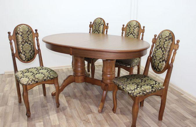 Обеденный стол Дуэт 1 Стул Классика 5. Фото с производства