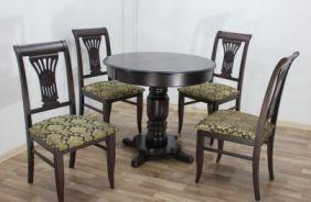 Обеденный стол Венеция 1, стул Кабриоль