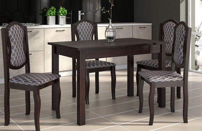 Обеденный стол Кипр Стул Классика 4 (венге)