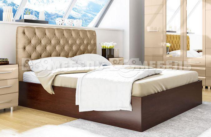 Двуспальная кровать без подъемного механизма