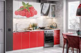 Кухня Фортуна фотопечать Малина. Готовое решение 2,0