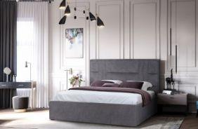 Мягкая кровать Лаура без подъемного механизма