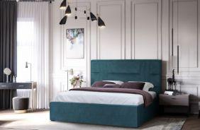 Мягкая кровать Лаура без механизма