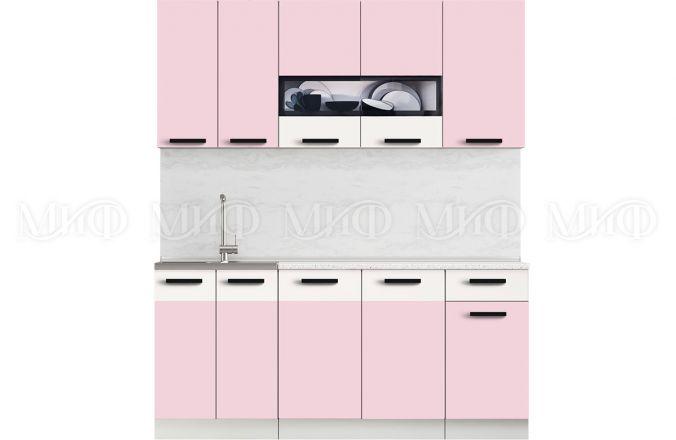 Кухня Рио Розовая 1,8