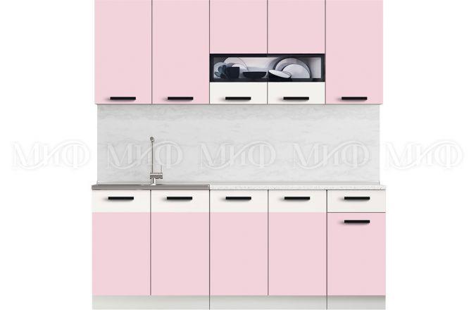 Кухня Рио Розовая 2,0