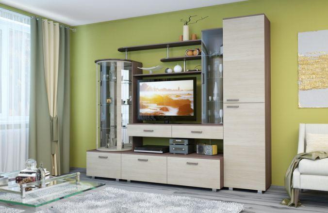 Гостиная мебель венге