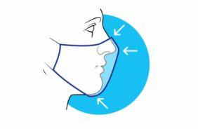 Плотное прилегание, максимальная площадь покрытия лица