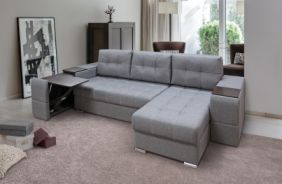 Угловой диван со столиком Риф