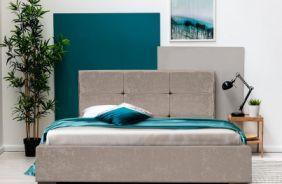 Кровать Азалия 2 1,6 м. Ткань Нео 15