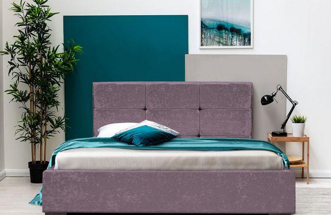 Кровать Азалия 2 1,6 м. Ткань Нео 06