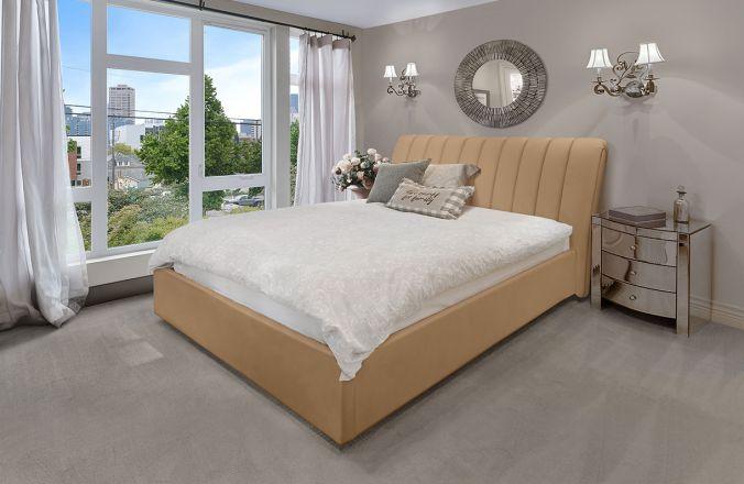 Подъемная кровать Джулия 2. Ткань: Velutto 02