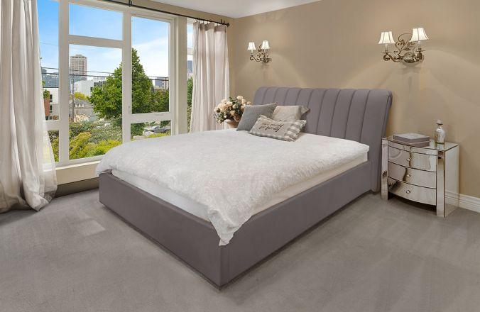 Подъемная кровать Джулия 2. Ткань: Velutto 08