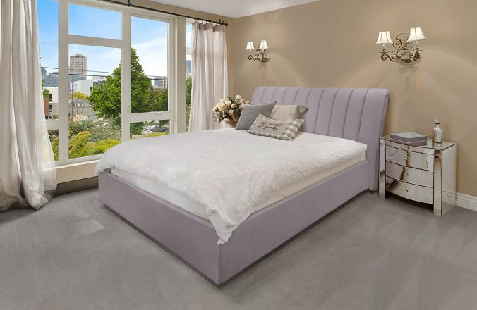 Подъемная кровать Джулия 2. Ткань: Velutto 09