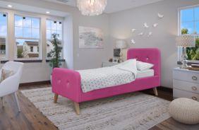 Кровать Марго. Ткань: Тэдди 641