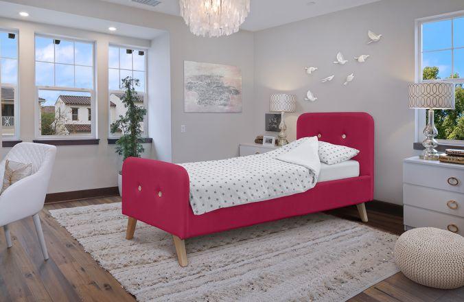 Кровать Марго. Ткань: Тэдди 643