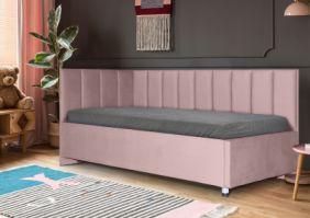 Кровать с дизайнерской спинкой