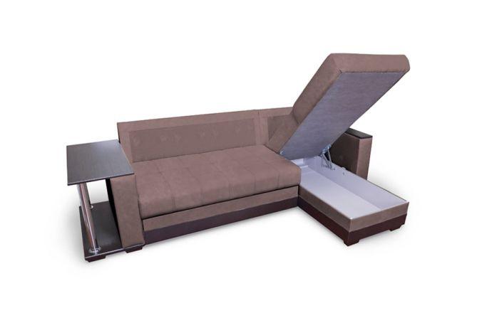 Угловой диван Дублин. Ящик для белья