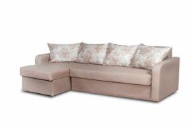 Угловой диван–еврокнижка Домино. Beige