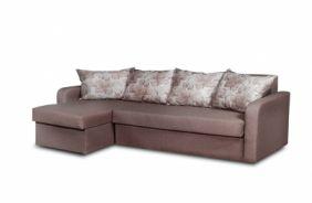 Угловой диван–еврокнижка Домино. Сhoko