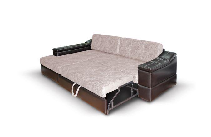 Большой угловой диван Премьер. Beige
