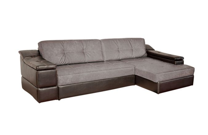 Большой угловой диван Премьер. Grafit