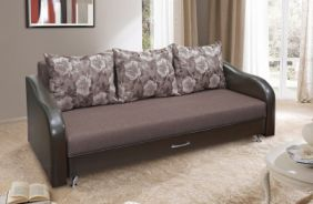 Прямой тканевый диван Леон