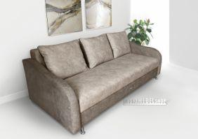 Прямой тканевый диван