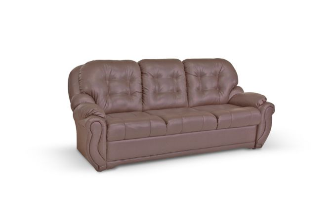 Прямой диван без ящика Бостон. Choco