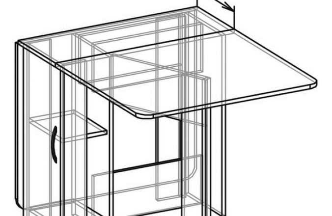 Стол-книга № 3 кромка 0,4 мм