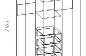 Шкафы для квартиры - купить недорогой шкаф в квартиру в Пензе, цены в магазине ВСЯМЕБЕЛЬ