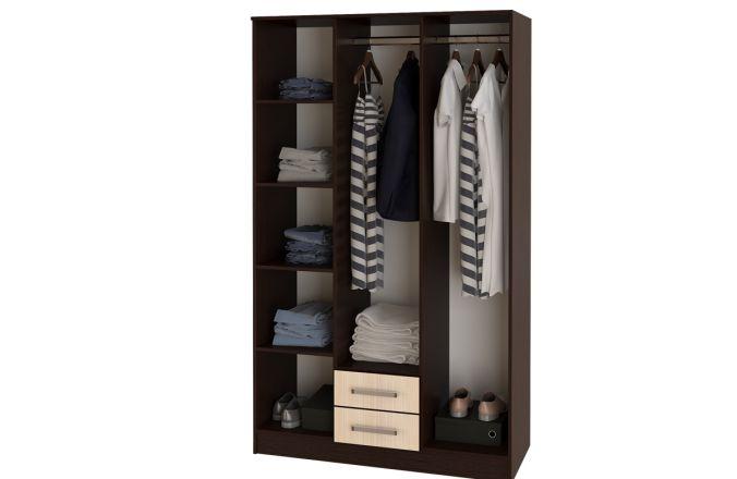 Шкафы распашные с полками недорого от производителя в Пензе